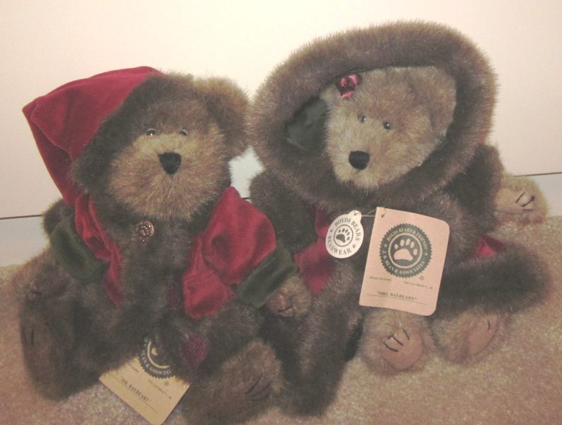 Boyds Bears Mr Baybeary 917314 Mrs Baybeary 917312