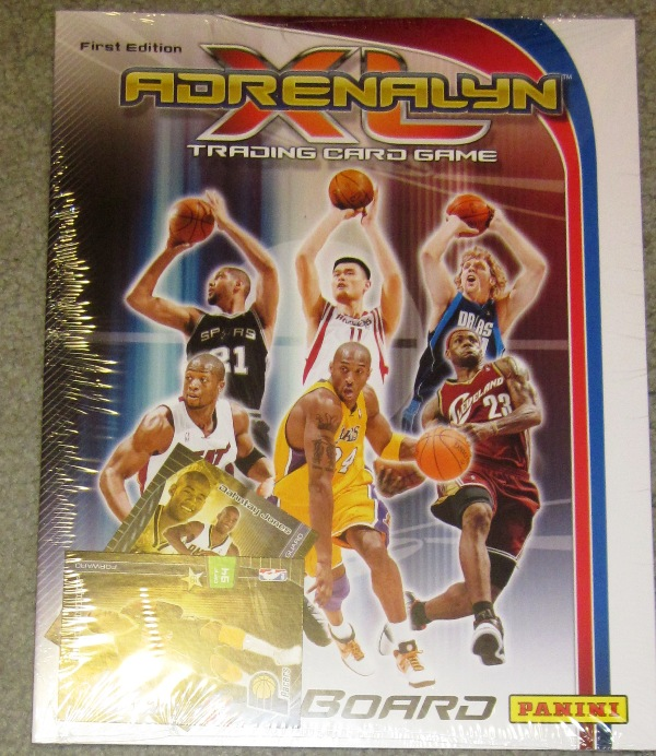 Adrenalyn XL First Edition NBA Trading Card Game Board and Cards