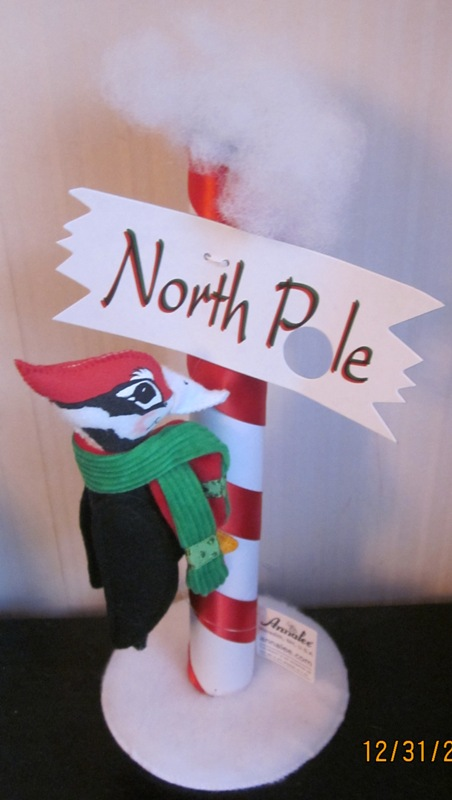 "Annalee 6"" North Pole Woodpecker 750811"