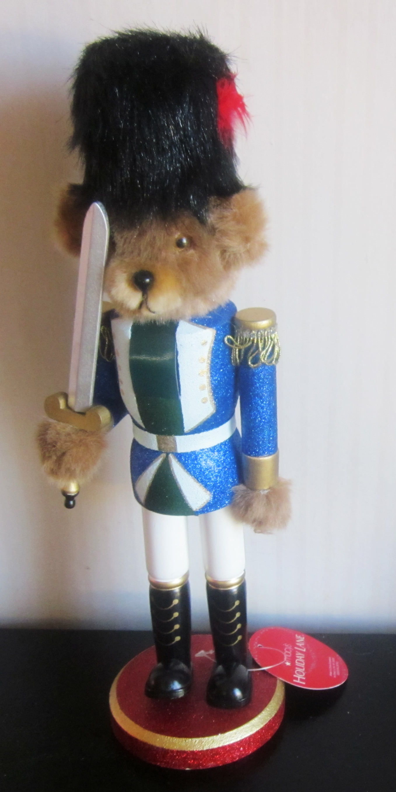 "Macy's 14"" Nutcracker Bear"