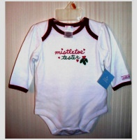 Christmas Long Sleeve One Piece Bodysuit Creeper 3 6 Months