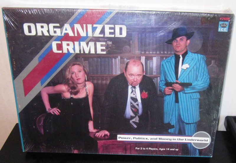 Organized Crime Board Game by ICE I.C.E.