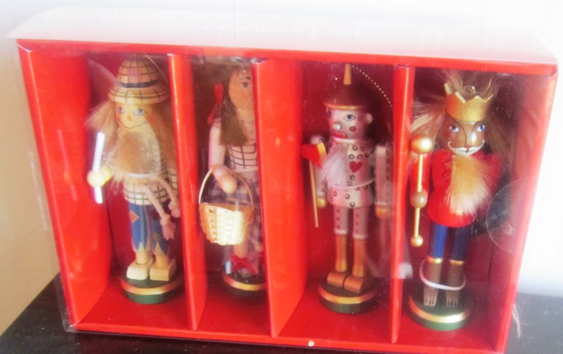 Set of 4 Wizard of Oz Nutcracker Ornaments Macy's