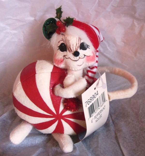 "Annalee 6"" Peppermint Mouse 768904"