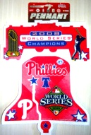 2008 World Series Pennant Liberty Bell Shape
