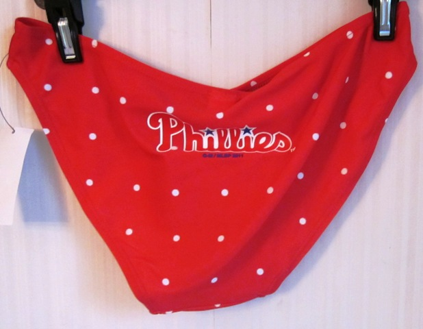 Philadelphia Phillies Bikini Bottoms Small