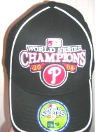 2008 World Series Locker Room Black Cap