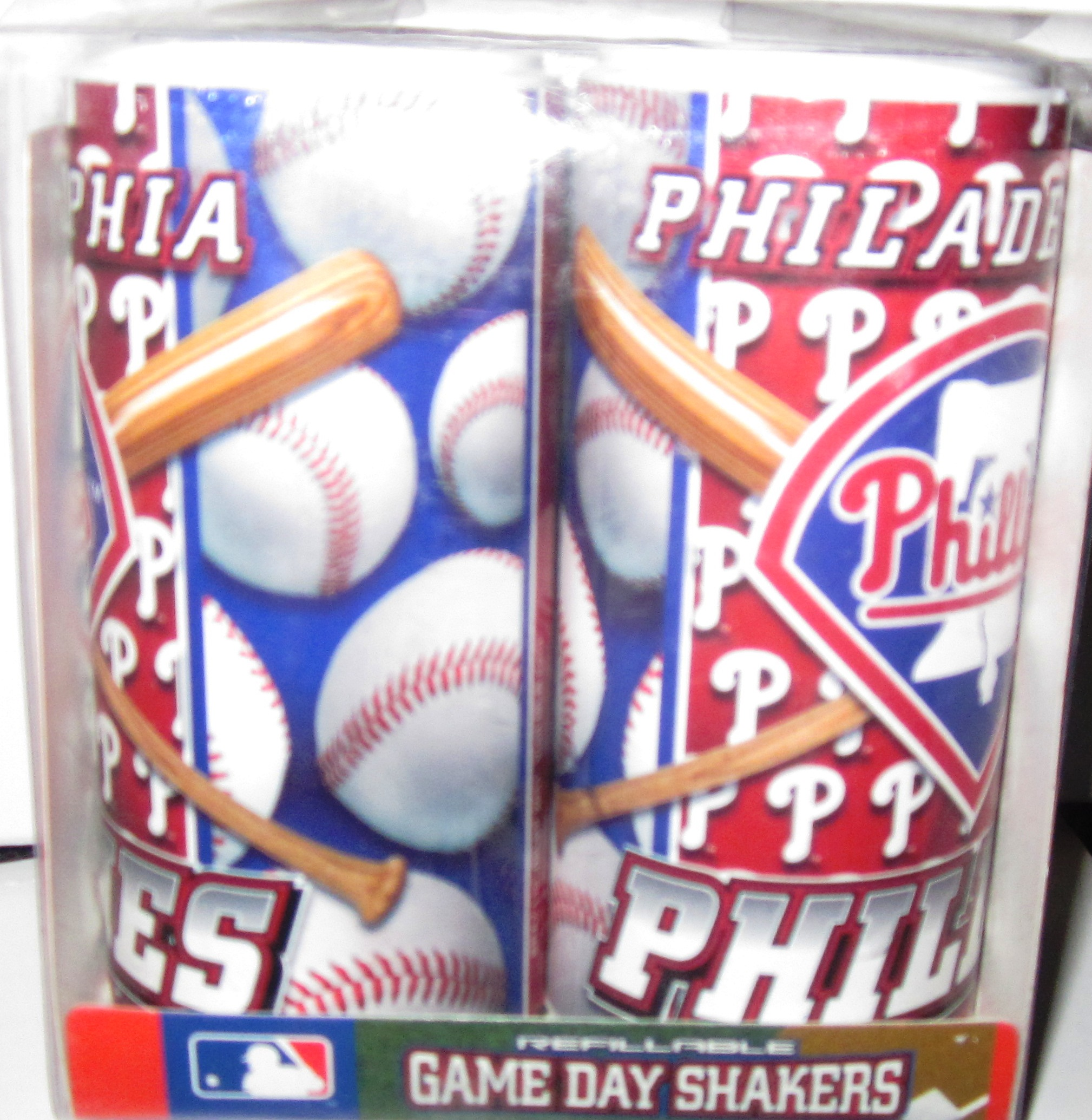 Philadelphia Phillies Refillable Game Day Salt and Pepper Shaker