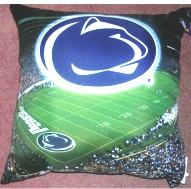 Penn State Nittany Lions Decorative Throw Photo Pillow Square