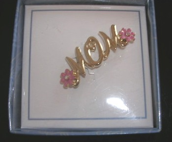Mom Pin Brooch NIB