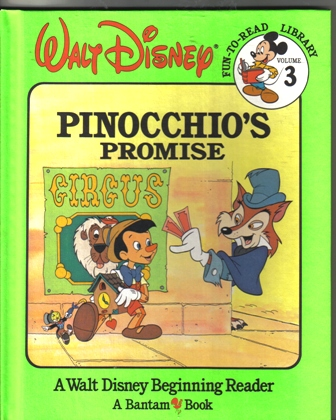 Walt Disney Fun To Read Library Volume 3 Pinocchio's Promise