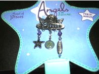 Angels of the Zodiac Jewelry Pisces Pin