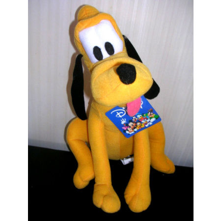 Disney Pluto Stuffed Plush New with Tags 11""