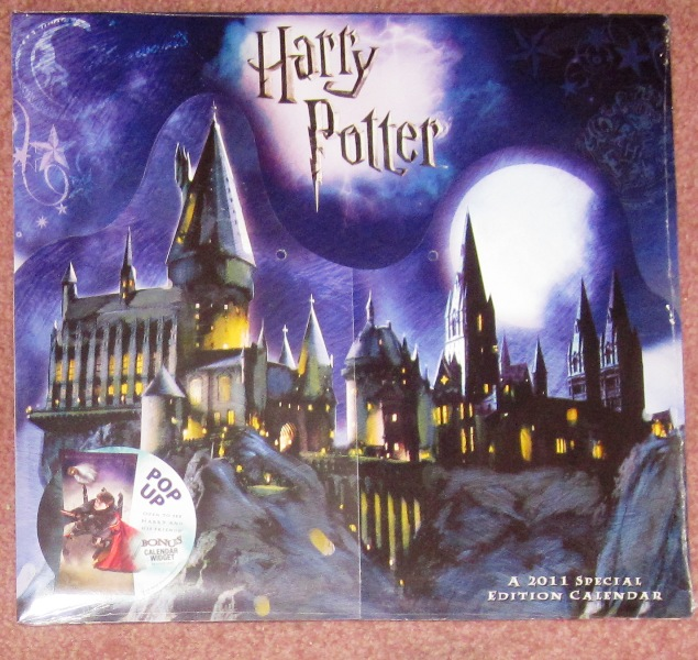 Harry Potter 2011 Pop-Up Calendar Factory Sealed