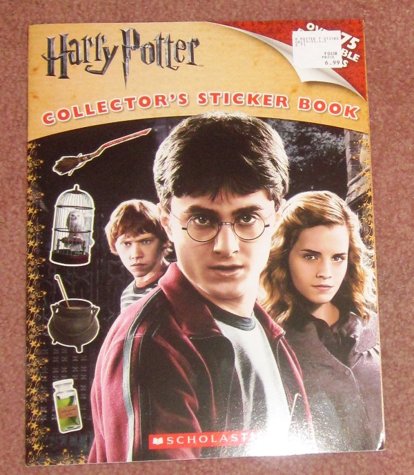 Harry Potter Collector's Sticker Book 2010
