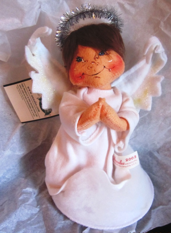 "Annalee 2003 8"" Praying Angel 712303"