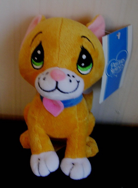 "2007 Precious Moments 7"" Plush Kitty Cat"