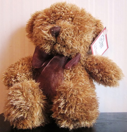 RBI Lil Tumbles Plush Stuffed Brown Bear