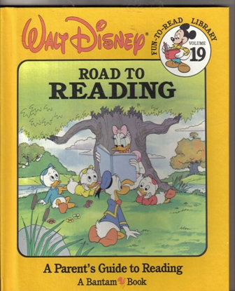 Walt Disney Fun To Read Library Volume 19 Road to Reading
