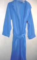 Womens Blue Robe Bathrobe Joe Boxer Medium