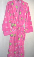 Womens Robe Bathrobe Joe Boxer Large NWT