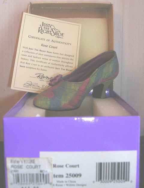 Just The Right Shoe by Raine Rose Court 25009 JTRS
