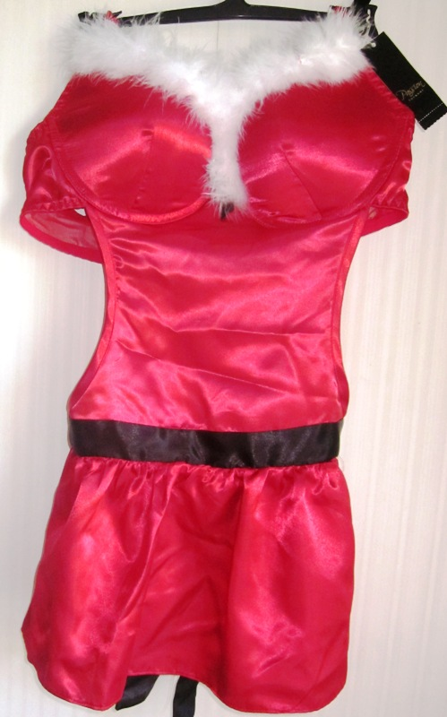 Passion Forever Santa Baby Apron Womens Large