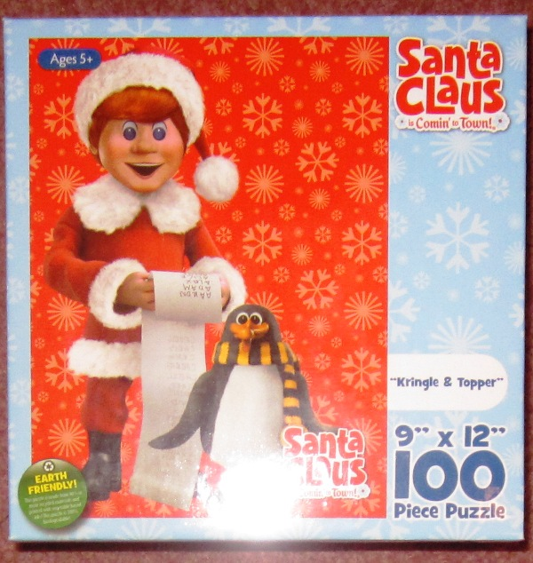 Santa Claus Is Comin To Town 100 Piece Puzzle Jessica Friends