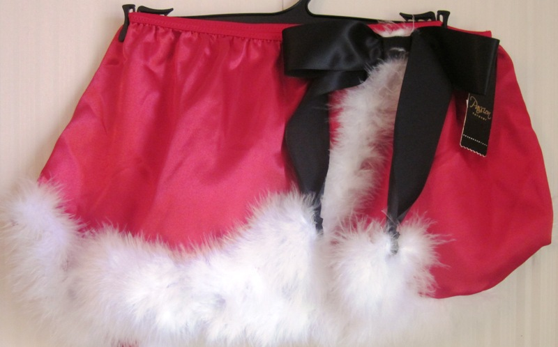 Passion Forever Santa Baby Wrap Skirt L XL