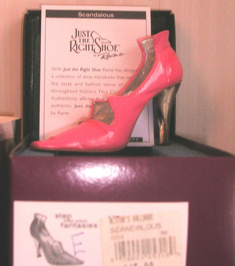 Just The Right Shoe by Raine Scandalous 25316 JTRS