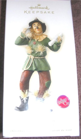 Hallmark Ornament The Scarecrow Wizard Of Oz New 2008