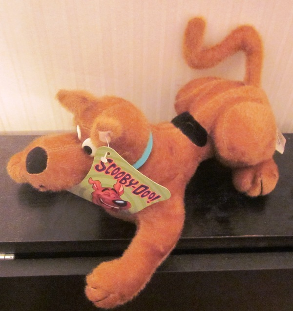 Scooby Doo Laying Down Plush Stuffed by Toy Factory