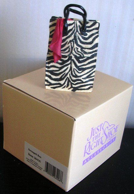 Just the Right Shoe Serengeti Box by Raine #26406