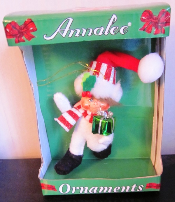 "Annalee Ornament 3"" Shimmermint Gift Kid 700411"