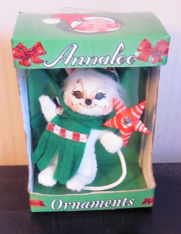 "Annalee Ornament 3"" Shimmermint Star Mouse 700811"