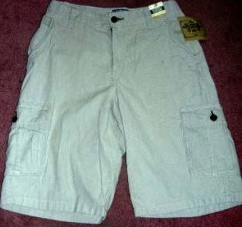 Corduroy Shorts Boys Husky 10H Adjustable Waist