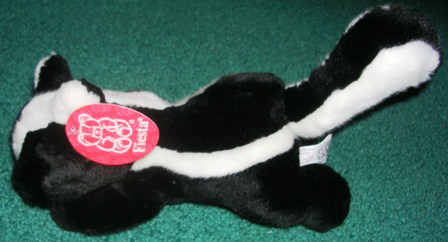 Plush Stuffed Skunk Fiesta 10""