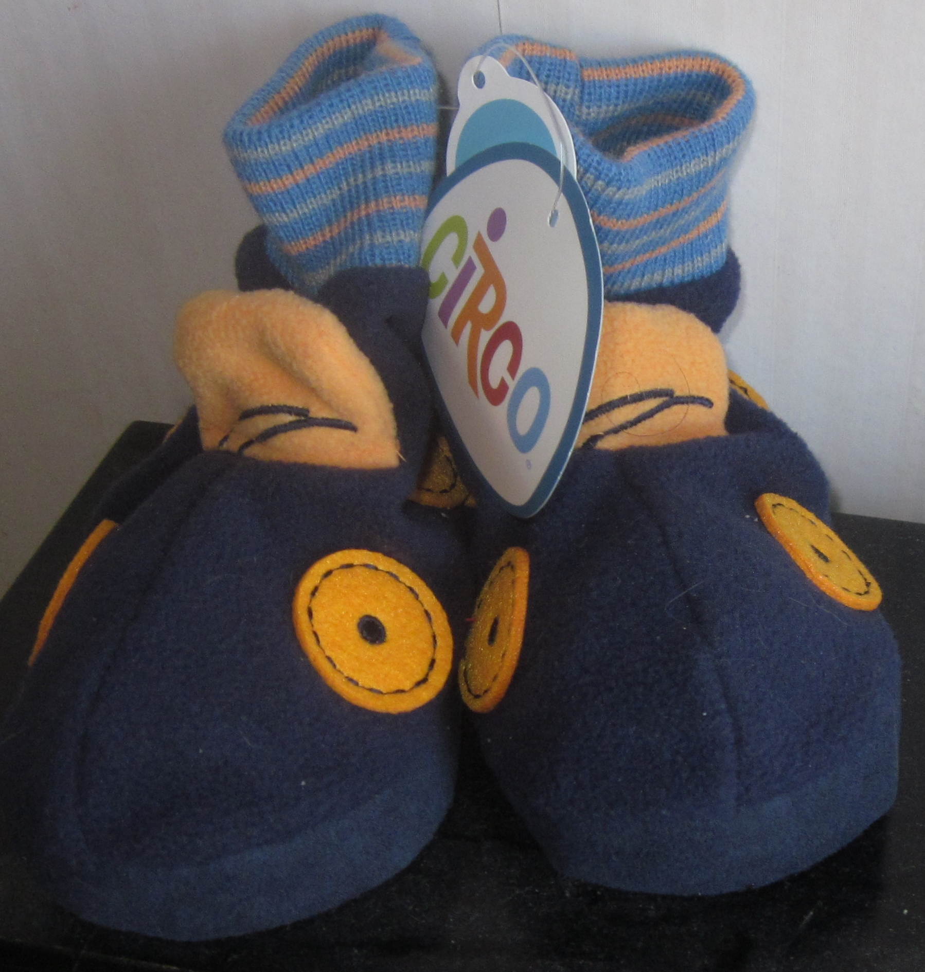Circo Baby Slippers Booties Blue 12 months 24 months