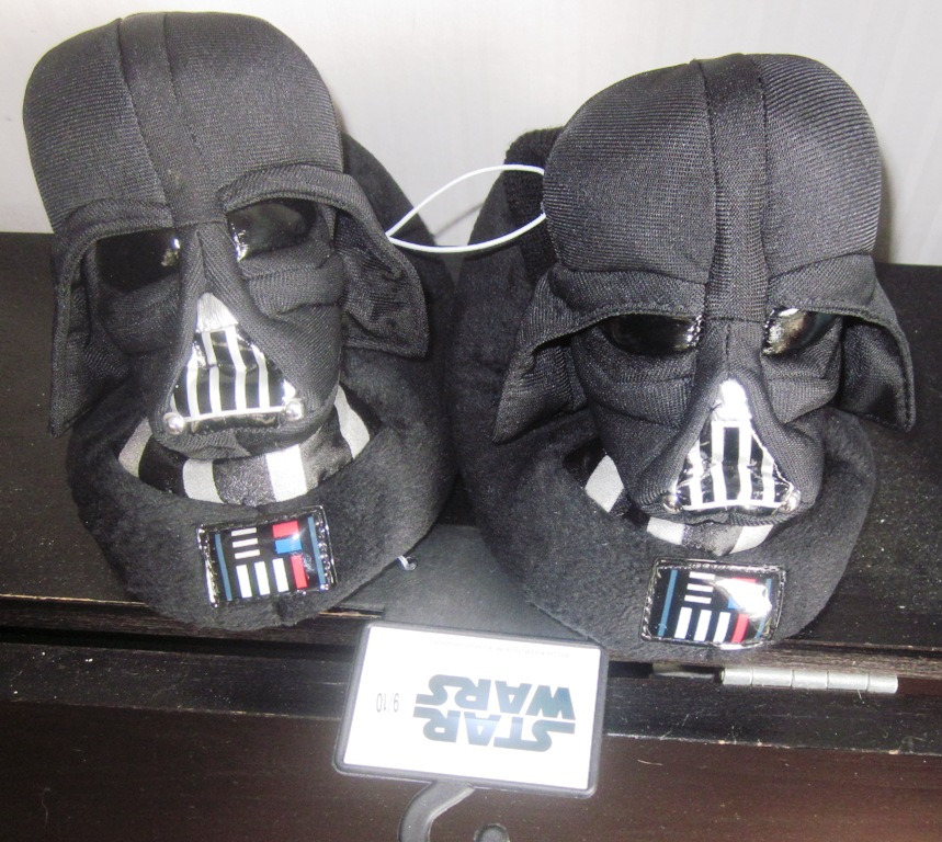Star Wars Darth Vader Slippers Medium 5/6