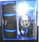 Mens Socks 3 In 1 Alarm Radio Stop Watch Gift Set