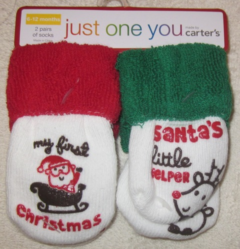Carter's Just One You Santa's Little Helper 6-12 months