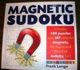 Magnetic Sudoku Puzzle Book By Frank Longo
