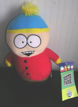 South Park Eric Cartman Plush Stuffed 8""