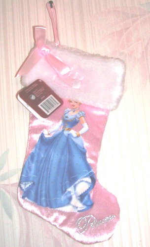 "Disney Cinderella 10"" Christmas Stocking"