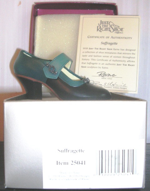 Just The Right Shoe by Raine Suffragette 25041 JTRS