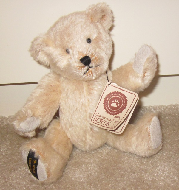 Boyds Bears Mohair Teddy B Bear 50004