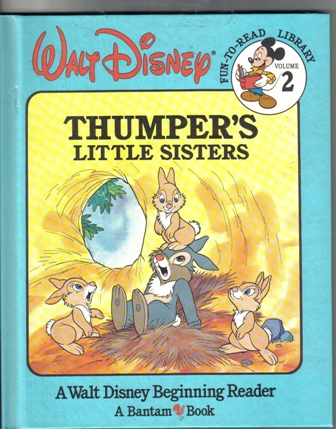 Walt Disney Fun To Read Library Volume 2 Thumpers Little Sisters