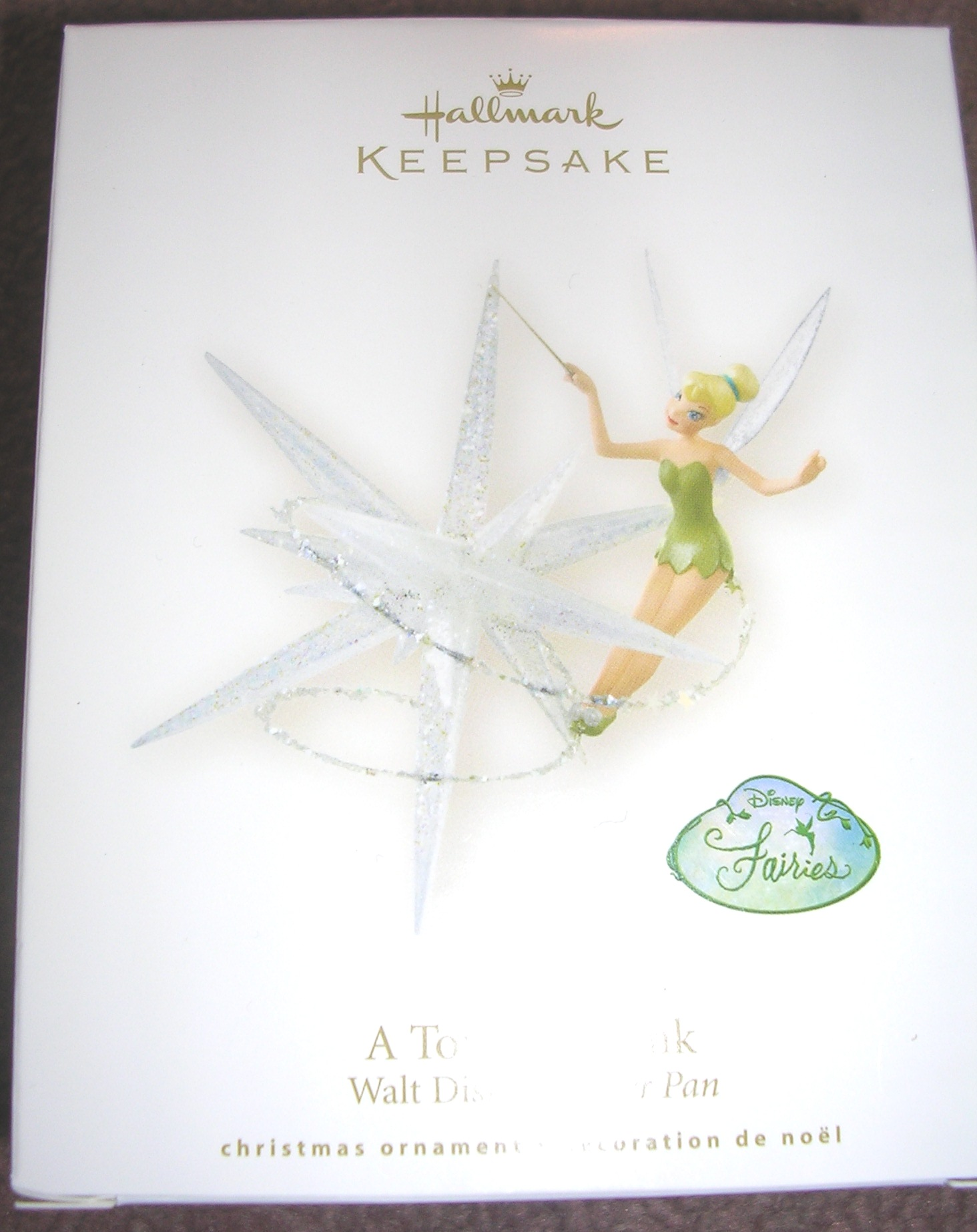 Hallmark Ornament A Touch of Tink Peter Pan 2008