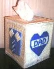 Dad Tissue Kleenex Box Cover