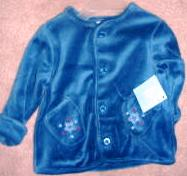 Small Wonders Jacket Boys 0-3 months Train